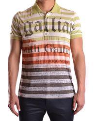 John Galliano - Men's Mcbi130108o Multicolor Polyester Polo Shirt - Lyst