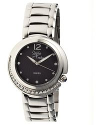 Sophie & Freda - Lisbon Mother-of-pearl Bracelet Watch - Lyst