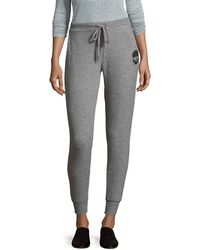 Chaser - Slim Slouchy Heathered Pant - Lyst