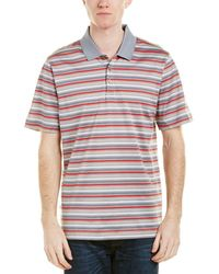 Cutter & Buck - Oasis Mercerized Stripe Polo Shirt - Lyst