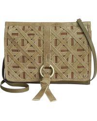 Nanette Lepore - Womens Aspen Leather Crossbody Shoulder Handbag - Lyst