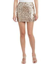Dress the Population - Alice Mini Skirt - Lyst