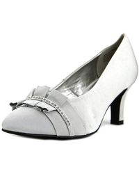David Tate - Stardust Pointed Toe Leather Heels - Lyst