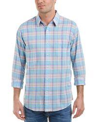 Faherty Brand - Summer Blend Ventura Woven Shirt - Lyst