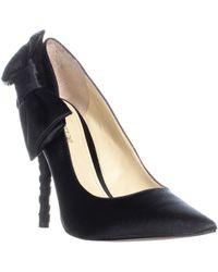 Enzo Angiolini - Cyma Bow Tie Court Shoes, Black - Lyst