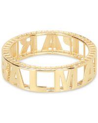 Balmain - Women's Gold Metal Bracelet - Lyst