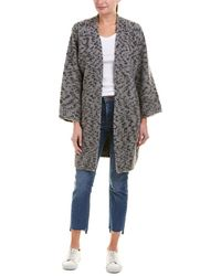 Vince - Textured Wool-blend Cardigan - Lyst