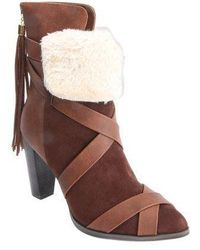 Penny Loves Kenny - Women's Amp High Heel Ankle Boot - Lyst