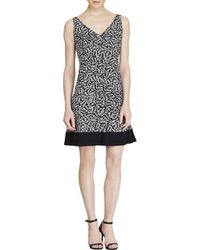 American Living - Womens Matte Jersey Sleeveless Cocktail Dress - Lyst