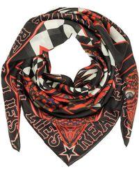 Givenchy | Men's Black Silk Foulard | Lyst