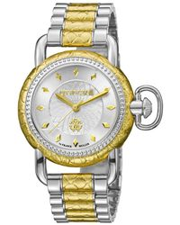Roberto Cavalli - Rv1l017 Two-tone Watch - Lyst