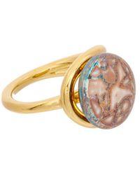 Louis Vuitton | Pink Gold-tone Celeste Ring | Lyst