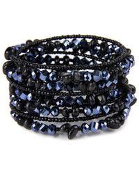 Saachi - Spiral Wrap Bracelet - Lyst