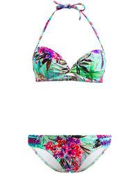 Les P'tites Bombes - 2 Pieces Multicolor Swimsuit Balconnet B Cup Savana 005 - Lyst