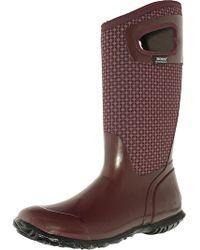 Bogs - Women's North Hampton Cravat Rubber Ankle-high Rubber Boot - Lyst