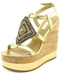 Lauren by Ralph Lauren - Womens Mattie Open Toe Casual Platform Sandals - Lyst