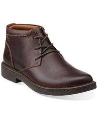 Clarks - Men's Stratton Limit Boots - Lyst