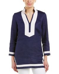 Sail To Sable - Linen Tunic - Lyst