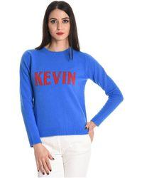 Jucca - Women's Blue Wool Sweater - Lyst