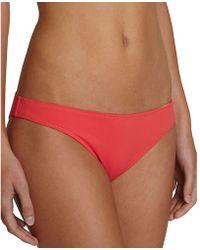Eberjey - So Solid Annia Bikini Bottom - Lyst