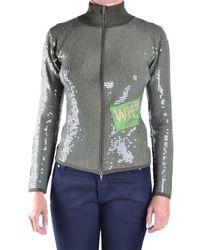 Who*s Who | Women's Green Viscose Sweatshirt | Lyst