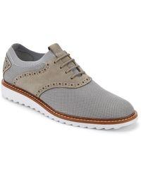 G.H.BASS - . Mens Dirty Buck 2.0 Saddle Knit Oxford Shoe - Lyst