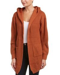 Haute Rogue - Haute Rouge Lace-up Back Cardigan - Lyst