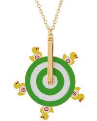Les Nereides - Joyland Ducks Shooting Necklace - Lyst