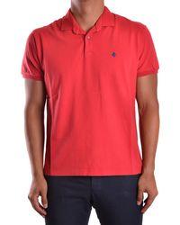 Ballantyne - Men's Mcbi032026o Red Cotton Polo Shirt - Lyst