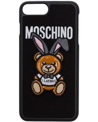 Moschino - Women's Black Polyester Cover - Lyst