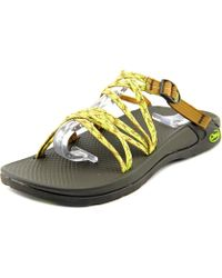 Chaco - Kanarra Round Toe Canvas Trainers - Lyst