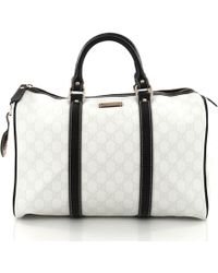 Gucci - Pre Owned Joy Boston Bag GG Canvas Medium - Lyst