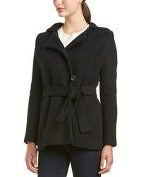 Maje - Guerrier Wool & Cashmere-blend Coat - Lyst