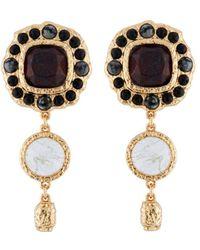 Les Nereides - Byzantine Treasures Earrings - Lyst