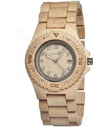 Earth Wood - Phloem Bracelet Watch - Lyst
