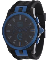 Cerruti 1881 - Watch Black Cra076q284h - Lyst