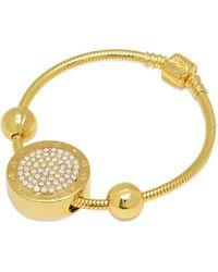 Caterina Jewelry - The Cj Charm Bracelet - Lyst