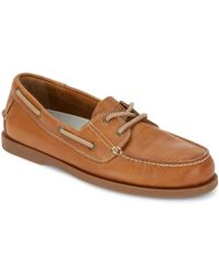 G.H. Bass & Co. - . Mens Asbury Traditional Slab Boat Shoe - Lyst