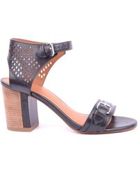 Marc By Marc Jacobs - Women's Mcbi197008o Black Leather Sandals - Lyst