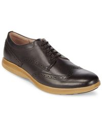 Cole Haan - Grand Tour Leather Derbys - Lyst
