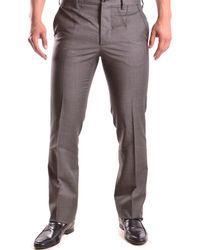 John Galliano | Men's Brown Wool Pants | Lyst