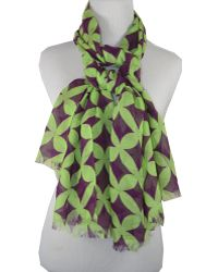 Pür Cashmere - Hot & Sour Collection - Groovy Scarf - Lyst