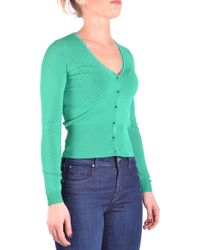 Liu Jo - Women's Green Viscose Cardigan - Lyst
