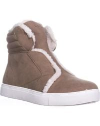 Nautica - Kellen Pull On High Top Trainers, Camel - Lyst