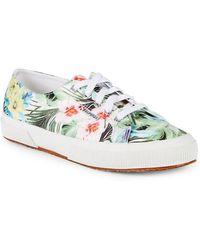 Superga - Raso Tropical-print Sneaker - Lyst