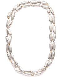 Gurhan - Long All Around Lentil Necklace - Lyst