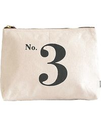 Maika - Number 3 Print Zipper Pouch, Large - Lyst
