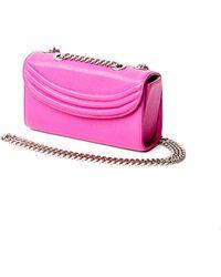Lauren Cecchi New York - Sorella Small Chain Bag In Hibiscus Pink - Lyst