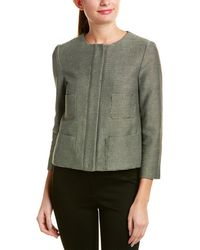 Armani - Cotton-blend Jacket - Lyst