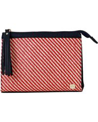 Hudson+Bleecker - San Remo Rosso Cosmetic Pouch - Lyst